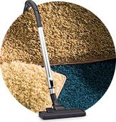 carpet nylon fibres