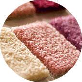 carpet polyester fibres